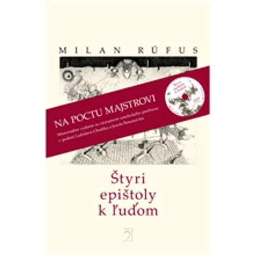 Audiokniha Štyri epištoly k ľuďom - Milan Rúfus - Ladislav Chudík