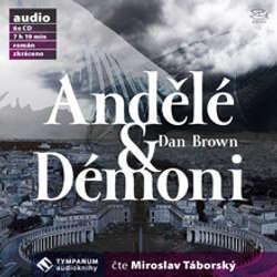 Audiokniha Andělé & Démoni - Dan Brown - Miroslav Táborský