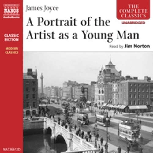 Audiobook A Portrait of the Artist as a Young Man (EN) - James Joyce - Jim Norton