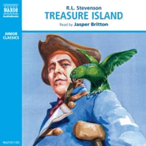 Audiobook Treasure Island (EN) - Robert Louis Stevenson - Jasper Britton