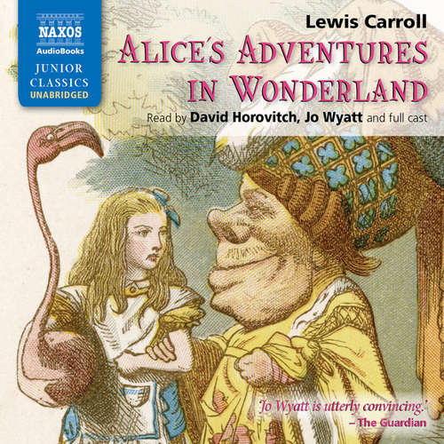 Audiobook Alice's Adventures in Wonderland (EN) - Lewis Carroll - Jo Wyatt