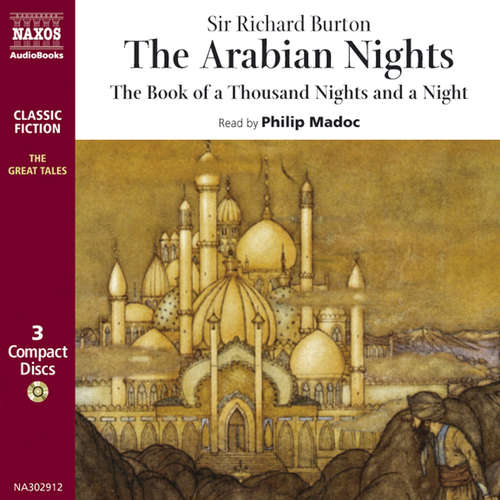 Audiobook The Arabian Nights (EN) - Richard Burton - Philip Madoc