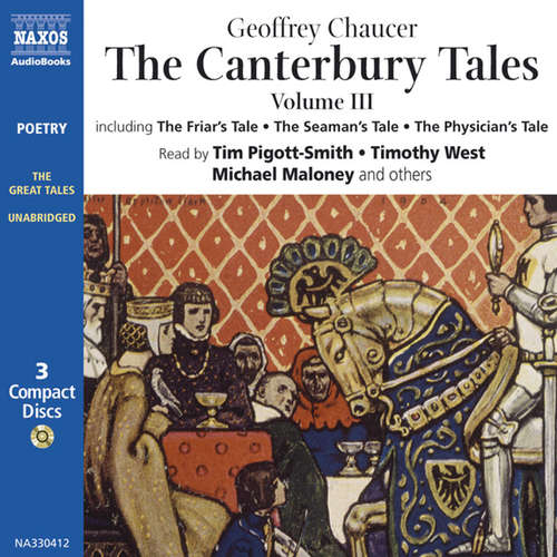 Audiobook The Canterbury Tales III (EN) - Geoffrey Chaucer - Tim Pigott-Smith
