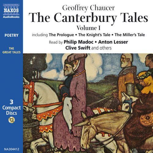 Audiobook The Canterbury Tales (EN) - Geoffrey Chaucer - Philip Madoc