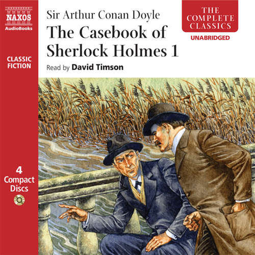 Audiobook The Casebook of Sherlock Holmes – Volume I (EN) - Arthur Conan Doyle - David Timson