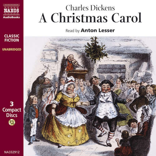 Audiobook A Christmas Carol (EN) - Charles Dickens - Anton Lesser