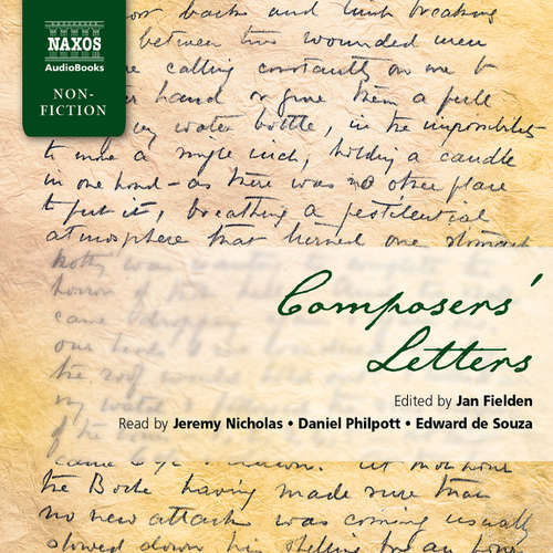 Audiobook Composers' Letters (EN) - Jan Fielden - Jeremy Nicholas