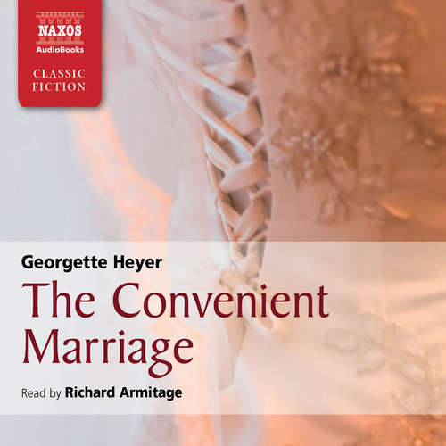 Audiobook The Convenient Marriage (EN) - Georgette Heyer - Richard Armitage
