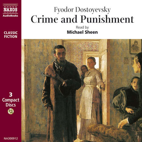 Audiobook Crime and Punishment (EN) - Fyodor Dostoyevsky - Michael Sheen