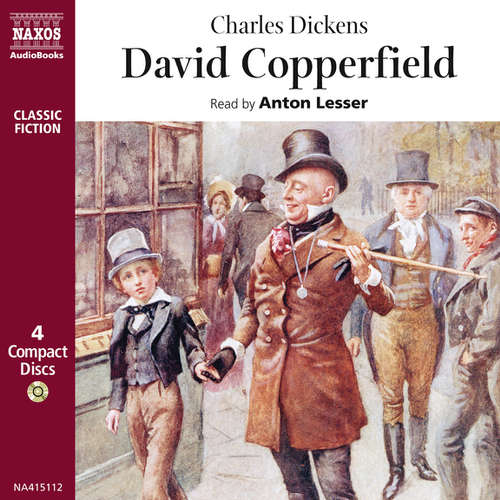 Audiobook David Copperfield (EN) - Charles Dickens - Anton Lesser