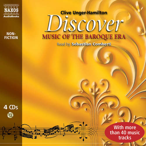 Audiobook Discover Music of the Baroque Era (EN) - Clive Unger-Hamilton - Sebastian Comberti