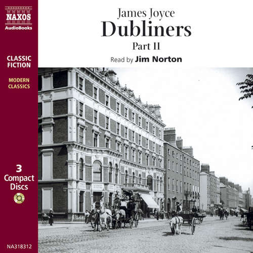 Audiobook Dubliners – Part II (EN) - James Joyce - Jim Norton