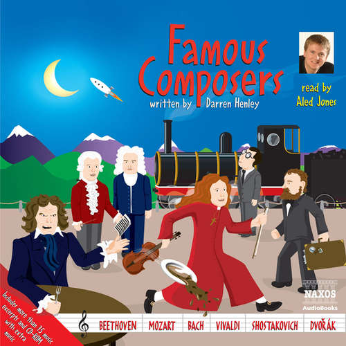 Audiobook Famous Composers (EN) - Darren Henley - Aled Jones