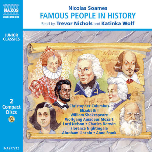 Audiobook Famous People in History – Volume 1 (EN) - Nicolas Soames - Trevor Nichols