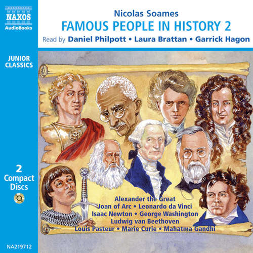 Audiobook Famous People in History – Volume 2 (EN) - Nicolas Soames - Daniel Philpott