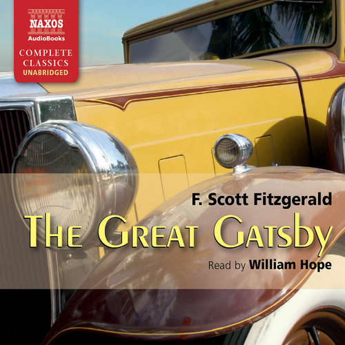 Audiobook The Great Gatsby (EN) - F. Scott Fitzgerald - William Hope
