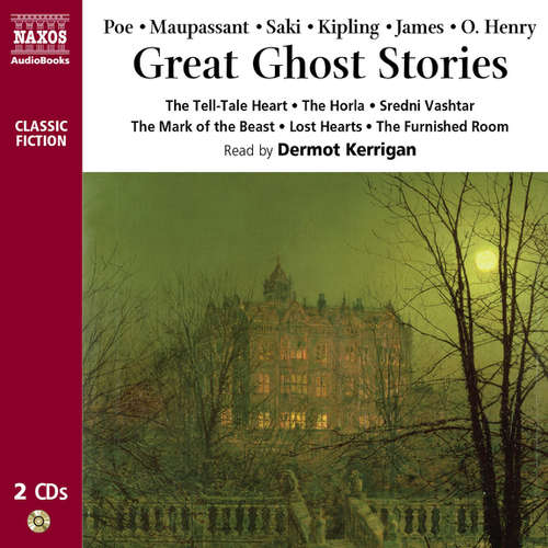 Audiobook Great Ghost Stories (EN) - Edgar Allan Poe - Dermot Kerrigan
