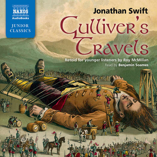 Audiobook Gulliver's Travels: Retold for younger listeners (EN) - Jonathan Swift - Benjamin Soames