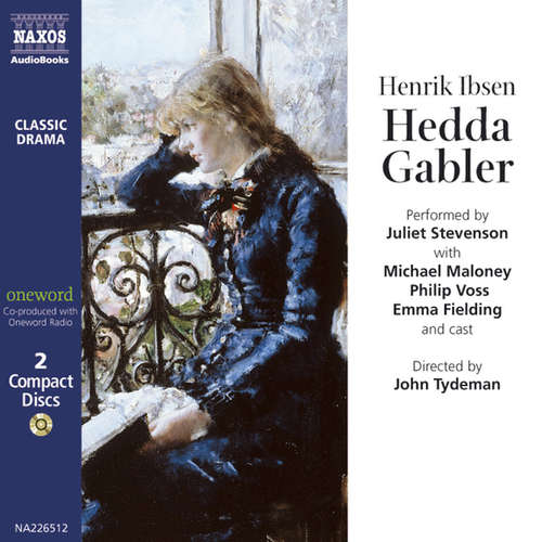 Audiobook Hedda Gabler (EN) - Henrik Ibsen - Juliet Stevenson