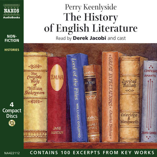 Audiobook The History of English Literature (EN) - Perry Keenlyside - Derek Jacobi
