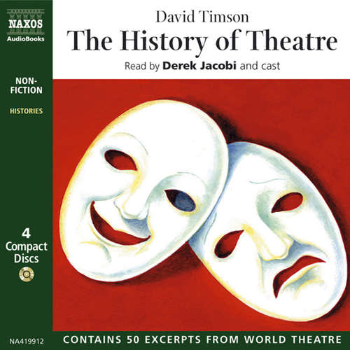 Audiobook The History of Theatre (EN) - David Timson - Derek Jacobi