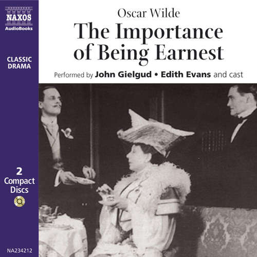 Audiobook The Importance of Being Earnest (EN) - Oscar Wilde - Sir John Gielgud