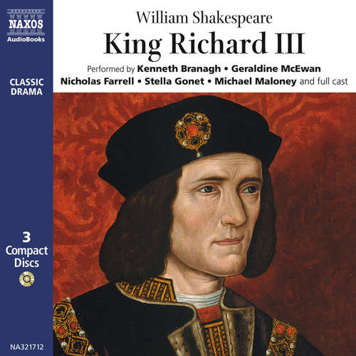 Audiobook King Richard III (EN) - William Shakespeare - Kenneth Branagh