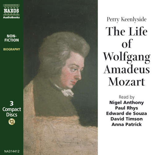 Audiobook The Life of Mozart (EN) - Perry Keenlyside - Heathcote Williams