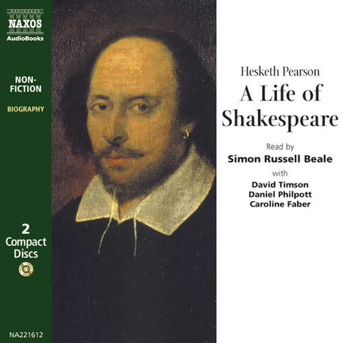 Audiobook A Life of Shakespeare (EN) - Hesketh Pearson - Simon Russell Beale