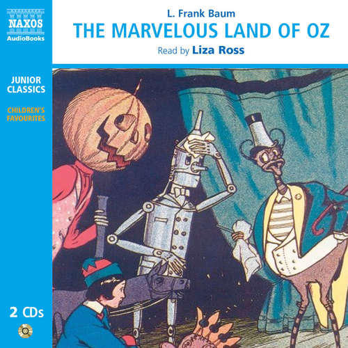 Audiobook The Marvelous Land of Oz (EN) - L. Frank Baum - Liza Ross