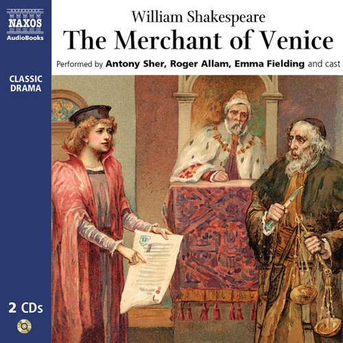 Audiobook The Merchant of Venice (EN) - William Shakespeare - Antony Sher