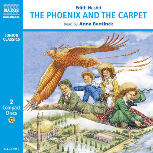 Audiobook The Phoenix and the Carpet (EN) - Edith Nesbit - Anna Bentinck