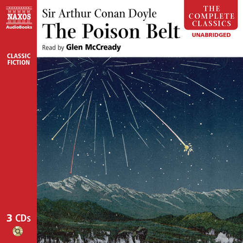 Audiobook The Poison Belt (EN) - Arthur Conan Doyle - Glen McCready