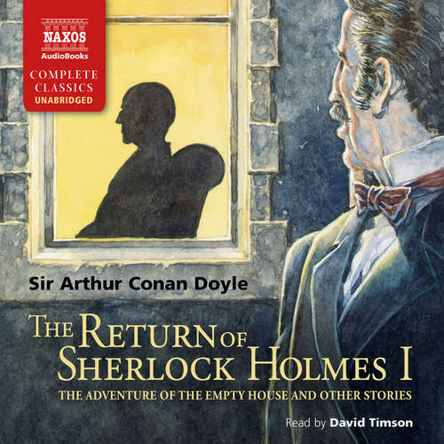 Audiobook The Return of Sherlock Holmes – Volume I (EN) - Arthur Conan Doyle - David Timson