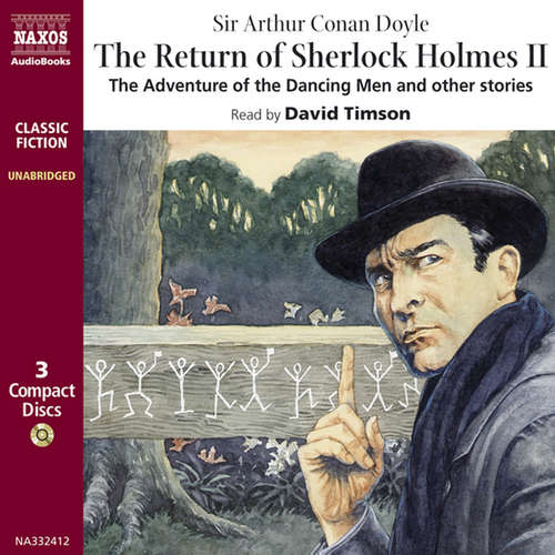 Audiobook The Return of Sherlock Holmes – Volume II (EN) - Arthur Conan Doyle - David Timson