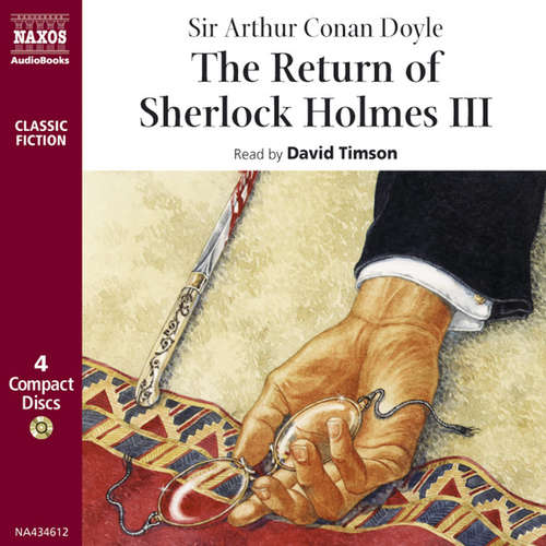 Audiobook The Return of Sherlock Holmes – Volume III (EN) - Arthur Conan Doyle - David Timson