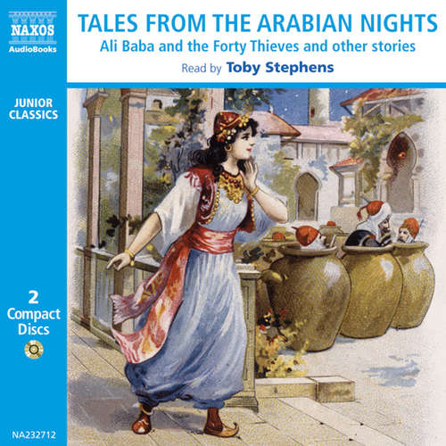 Audiobook Tales from The Arabian Nights (EN) - Andrew Lang - Toby Stephens