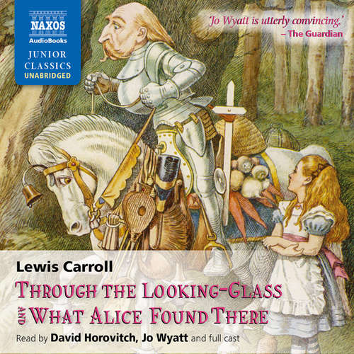 Audiobook Through the Looking-Glass and What Alice Found There (EN) - Lewis Carroll - David Horovitch