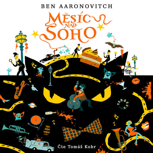 Audiokniha Měsíc nad Soho - Ben Aaronovitch - Tomáš Kobr