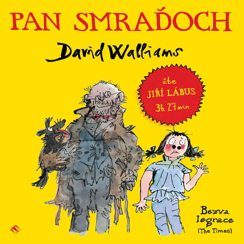 Audiokniha Pan Smraďoch - David Walliams - Jiří Lábus
