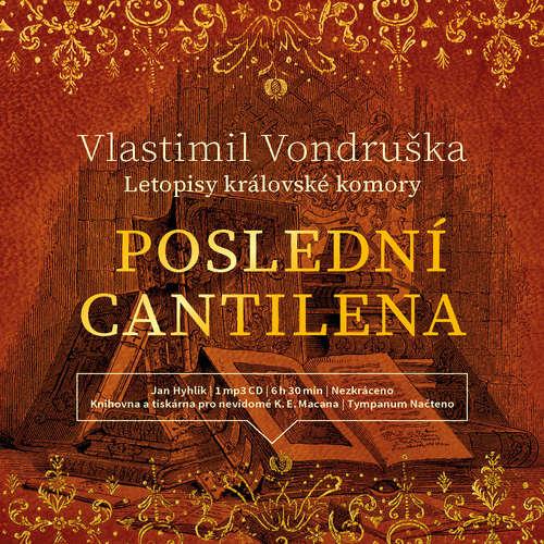 Audiokniha Poslední cantilena - Vlastimil Vondruška - Jan Hyhlík