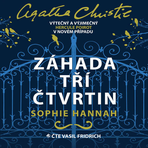 Audiokniha Záhada tří čtvrtin - Sophie Hannah - Vasil Fridrich