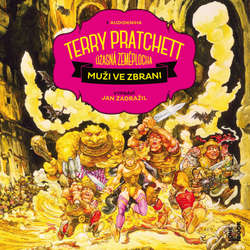 Audiokniha Muži ve zbrani - Terry Pratchett - Jan Zadražil