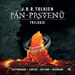 Audiokniha Pán prstenů (trilogie) - John Ronald Reuel Tolkien - Aleš Procházka