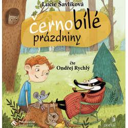 Audiokniha Černobílé prázdniny - Lucie Šavlíková - Ondřej Rychlý