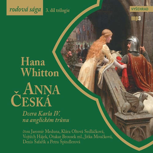 Audiokniha Anna Česká - Hana Whitton - Jaromír Meduna
