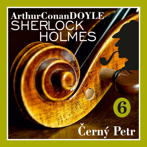 Audiokniha Návrat Sherlocka Holmese 6 - Černý Petr - Arthur Conan Doyle - Václav Knop