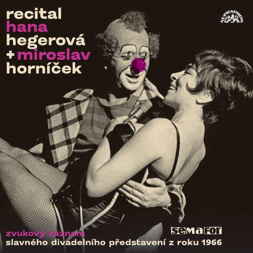 Audiokniha Recital 1966 - Petr Rada - Hana Hegerová