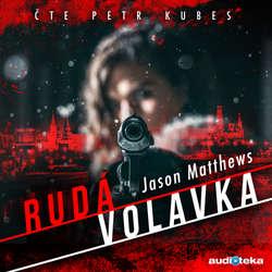 Audiokniha Rudá volavka - Jason Mattews - Petr Kubes