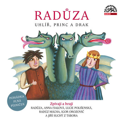Audiokniha Uhlíř, princ a drak -  Radůza - Anna Fialová